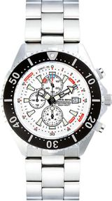 Chris Benz Depthmeter Chronograph 300m CB-C300-W-MB Herrenchronograph Tiefenmesser