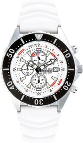 Chris Benz Depthmeter Chronograph 300m CB-C300-W-KBW Herrenchronograph Tiefenmesser