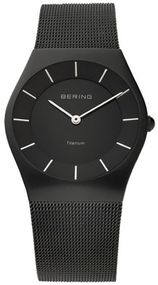 Bering Titanium Collection 11935-222 Elegante Herrenuhr flach & leicht