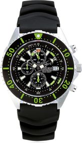 Chris Benz Depthmeter Chronograph 300m CB-C300-G-KBS Herrenchronograph Tiefenmesser