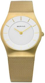 Bering Classic Collection 11930-334 Elegante Damenuhr flach & leicht
