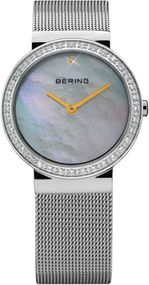 Bering Glam Collection 10725-010 Elegante Damenuhr flach & leicht