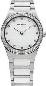 Bering Ceramic Collection 32430-754 Damenarmbanduhr Mit Keramikelementen