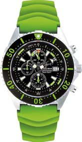 Chris Benz Depthmeter Chronograph 300m CB-C300-G-KBG Herrenchronograph Tiefenmesser