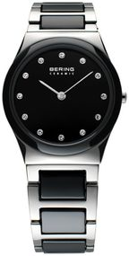 Bering Ceramic Collection 32230-742 Elegante Damenuhr Mit Keramikelementen