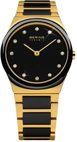Bering Ceramic Collection 32230-741 Elegante Damenuhr Mit Keramikelementen