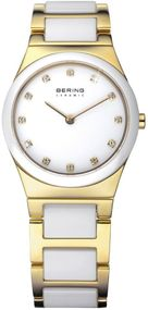 Bering Ceramic Collection 32230-751 Elegante Damenuhr Mit Keramikelementen