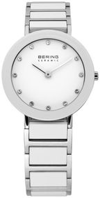 Bering Ceramic Collection 11429-754 Damenarmbanduhr Mit Keramikelementen