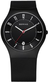 Bering Titanium Collection 11937-223 Elegante Herrenuhr flach & leicht