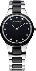 Bering Ceramic Collection 32327-742 Damenarmbanduhr Mit Keramikelementen