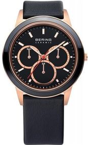 Bering Ceramic Collection 33840-446 Herrenarmbanduhr flach & leicht