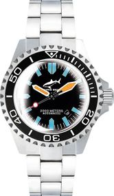 Chris Benz Deep 2000m Automatic Super Bubble CB-2000A-G3-MB Herren Automatikuhr Taucheruhr
