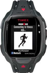 Timex Ironman Run x50+ HRM TW5K84600 Digitaluhr für Herren Bluetooth®-Technologie