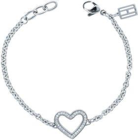 Tommy Hilfiger Jewelry CLASSIC SIGNATURE 2700623 Damenarmband Mit Swarovski Kristallen