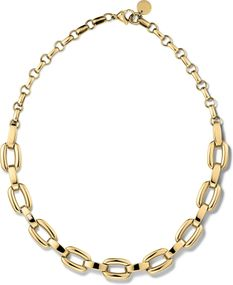 Tommy Hilfiger Jewelry Smooth Link Necklace 2700834 Damenhalskette Massiv gearbeitet