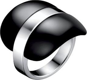 Calvin Klein Jewelry Treasure CK_KJ82AR010107 Ring für Sie Mit Glaseinsatz
