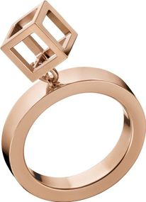 Calvin Klein Jewelry Daring KJ3HPR1001 Damenring Design Highlight