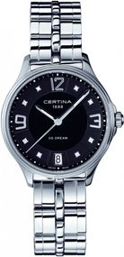 Certina DS Dream C021.210.11.056.00 Elegante Damenuhr mit echten Diamanten
