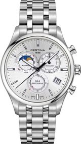 Certina DS-8 Moon Phase C033.450.11.031.00 Herrenchronograph Mondphase