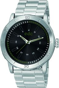 edc by Esprit Genuine Star EE100971007 Sportliche Herrenuhr Massives Gehäuse