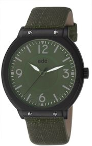 edc by Esprit High Flyer EE101091001 Legere Herrenuhr Military