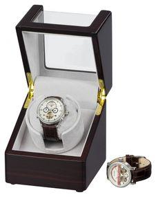 Auer Accessories Plutus 1041EG Uhrenbeweger Ebenholz – Bild 1