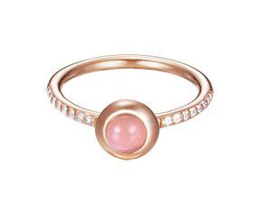 Esprit Jewel sparkling petite rose ESRG92507A Ring Mit Zirkonen
