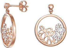 Esprit Jewel delicate bouquet rose ESER92948A000 Ohrringe Mit Zirkonen