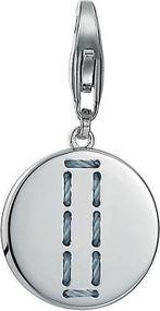 Esprit Jewel Letter Fabric ESCH91131A000 Charm Anhänger Rhodiertes Sterling Silber