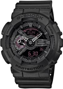 Casio G-Shock Mission Black GA-110MB-1AER Herrenarmbanduhr stoßresistent