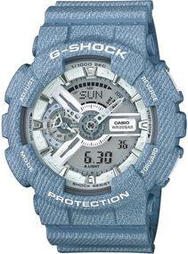 Casio G-Shock DENIM GA-110DC-2A7ER Herrenarmbanduhr stoßresistent
