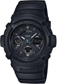Casio G-Shock Shock Resist AW-591BB-1AER Herrenchronograph Massives Gehäuse
