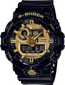 Casio G-Shock Classic GA-710GB-1AER Herrenarmbanduhr Massives Gehäuse