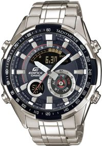 Casio Edifice Classic ERA-600D-1AVUEF Herrenchronograph Mit Thermometer