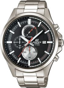 Casio Edifice Classic EFV-520D-1AVUEF Herrenchronograph Massives Gehäuse
