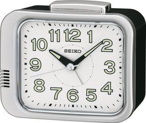 Seiko Clocks QHK028S Wecker Laufende Sekunde
