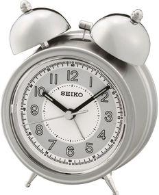 Seiko Clocks QHK035S Wecker Mechanischer Glockenschlag