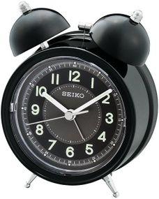 Seiko Clocks QHK035K Wecker Mechanischer Glockenschlag