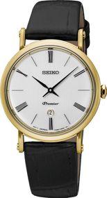 Seiko Premier SXB432P1 Damenarmbanduhr Klassisch schlicht