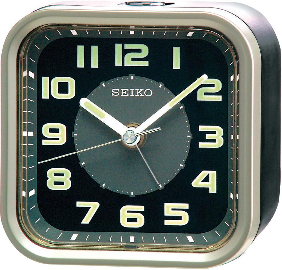 Seiko Clocks QHE128T Wecker Laufende Sekunde