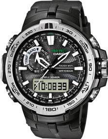 Casio Pro Trek Tough Solar PRW-6000-1ER Herrenarmbanduhr Multiband 6 & Solar