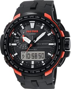 Casio Pro Trek Tough Solar PRW-6100Y-1ER Herrenarmbanduhr Multiband 6 & Solar