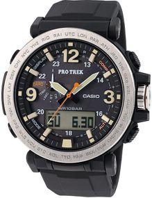 Casio Pro Trek Barometer PRG-600-1ER Herrenarmbanduhr Mit Kompass
