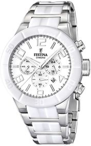 Festina Ceramic Collection F16576/1 Legere Herrenuhr Mit Keramikelementen