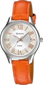 Casio Sheen Classic SHE-4050L-7AUER Damenarmbanduhr Klassisch schlicht