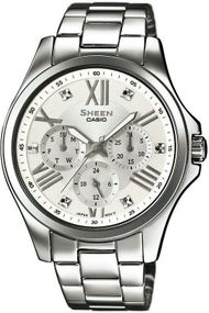 Casio Sheen Classic SHE-3806D-7AUER Damenchronograph Sehr Elegant