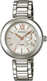 Casio Sheen Classic SHE-3050D-7AUER Damenarmbanduhr Design Highlight
