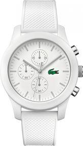 Lacoste Poloshirt 2010823 Herrenchronograph Silikonarmband