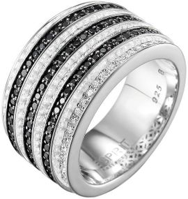 Esprit Collection Jewelry Pallyne ELRG91537B Damenring Mit Zirkonen