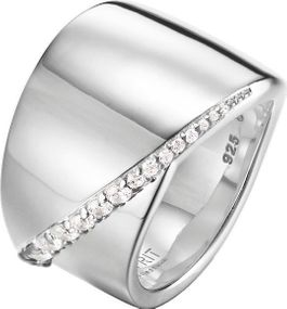 Esprit Collection Jewelry phanes ELRG92408A Damenring Mit Zirkonen